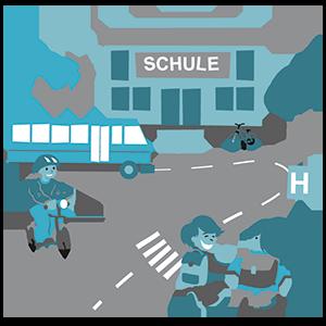 Schulwegmanagement an den St. Michael Schulen in Paderborn