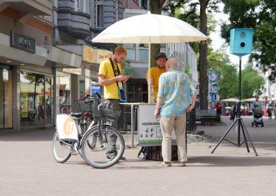 Evaluierung zu Radverkehr in Fußgängerzonen